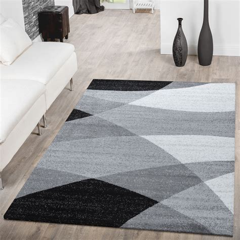 moderne teppich läufer kurzflor teppich grau kurzflor teppich l ufer vintage
