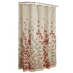 Floral Shower Curtains Shop Allen Roth Rosebury Polyester Print Choc Floral Shower Curtain At Lowes