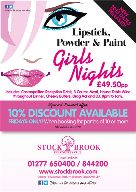 And The Spa Lipstick Powder N Paint out at stock brook country club essex