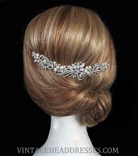 Vintage Wedding Hair Vines by Vintage Bridal Hair Vine By Debbi Harrison Bond