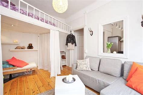 Cheap Furniture And Home Decor by 29 Sq M Tiny Studio Apartment In Sweden