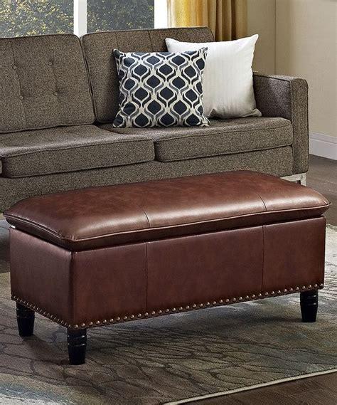 how to reupholster a pillow top ottoman cognac emily pillow top storage ottoman bench tops