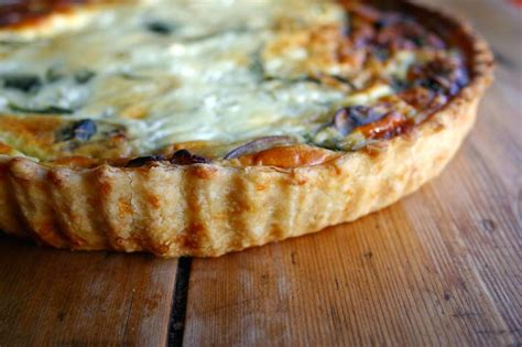 Spinach And Mushroom Cottage Cheese Quiche Belleau Kitchen Spinach Cottage Cheese Quiche