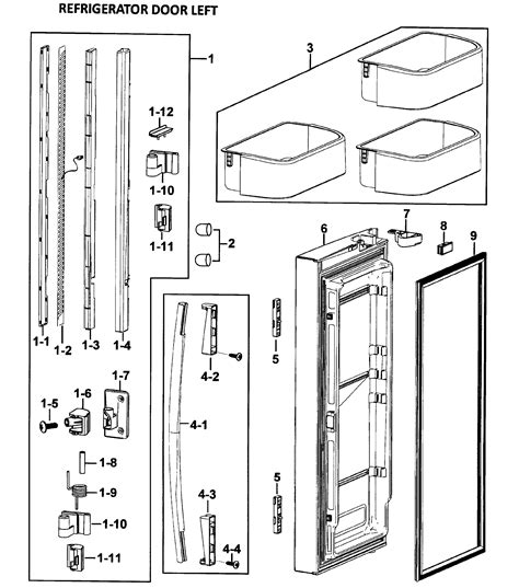 samsung refrigerator maker parts diagram samsung refrigerator maker diagram diagrams wiring