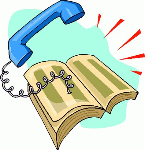 phone book picture phone book clipart cliparts co