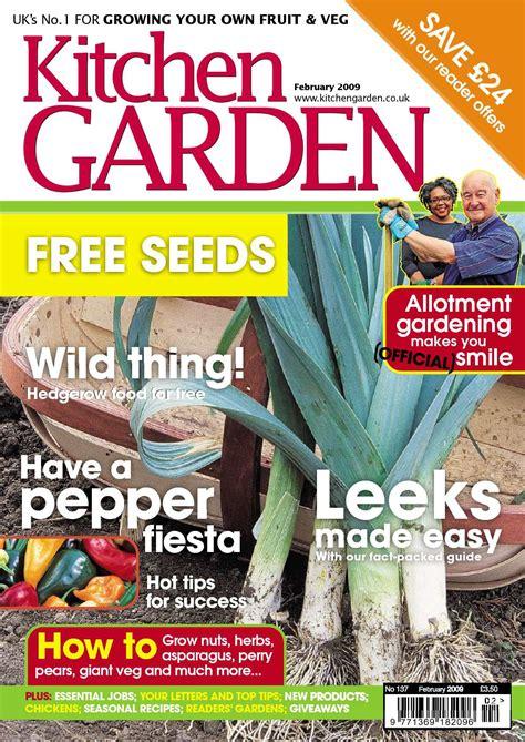 calam 233 o kitchen garden magazine