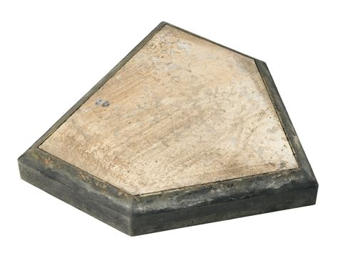 home plate lot detail game used yankee stadium home plate from