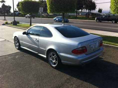purchase used 2000 mercedes clk 430 amg kit silver