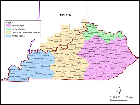 Region Of Kentucky by Western Kentucky Region Map Pictures To Pin On