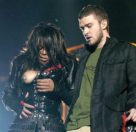 Janet Jackson Wardrobe by Janet Jackson Still Blacklisted Bowl Nip Slip National Enquirer