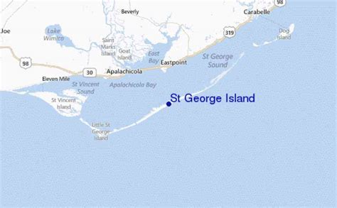 map of st island map of st george island holidaymapq