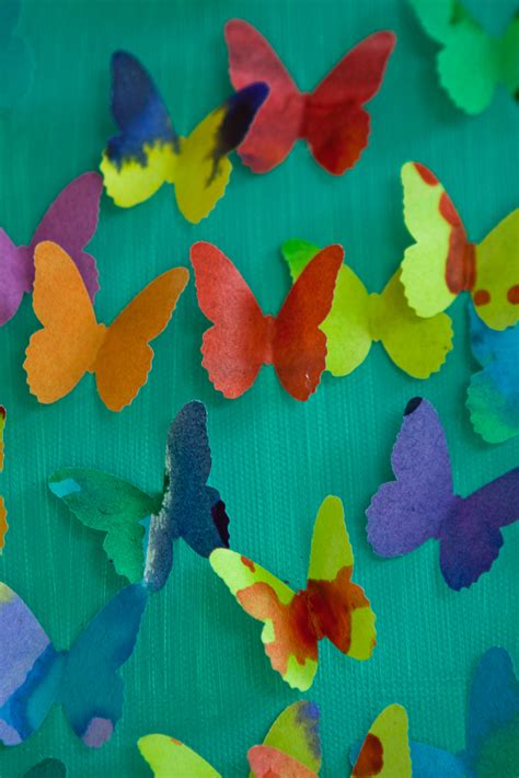 butterfly craft projects craft thursdays butterfly punch