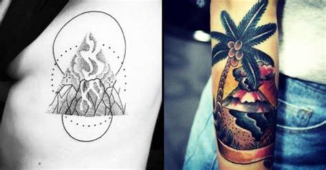 volcano tattoo 14 explosive volcano tattoos tattoodo