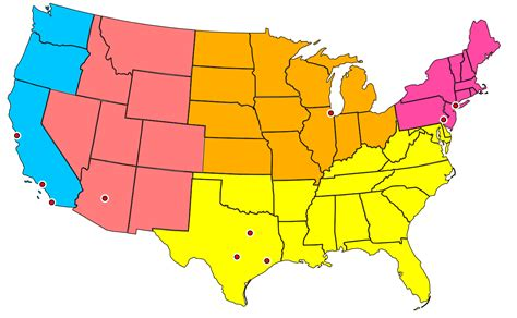 most populated state in usa file united states administrative divisions cities svg
