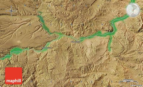 el paso maps satellite satellite map of paso limay