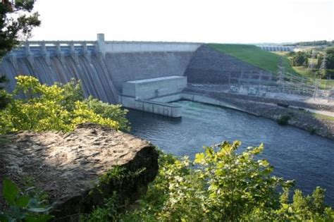 table rock lake dam picture of branson missouri