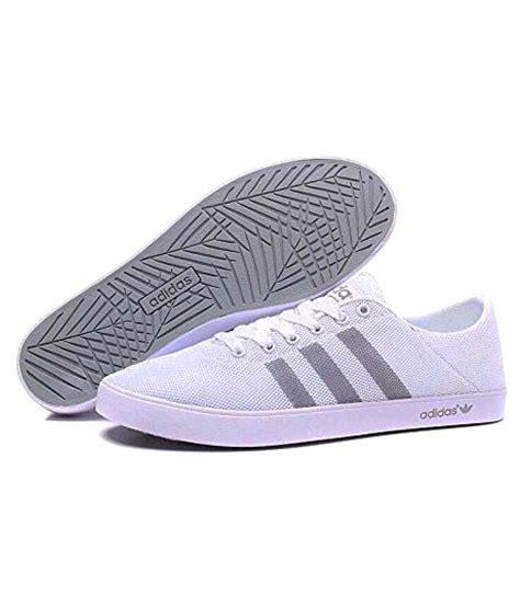 adidas  white casual shoes buy adidas  white