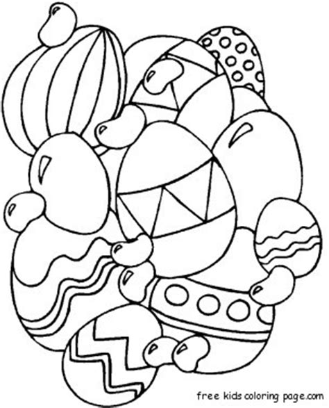 printable easter egg coloring pages  adultsfree