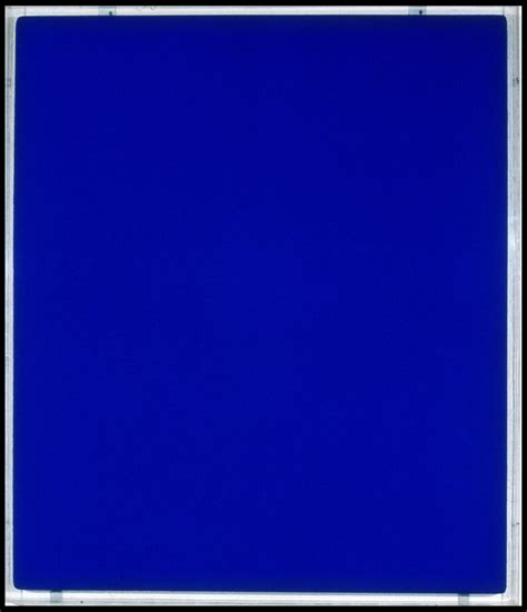 Yves Klein Blue by Yves Klein Blue Menil Www Imgkid The Image Kid Has It