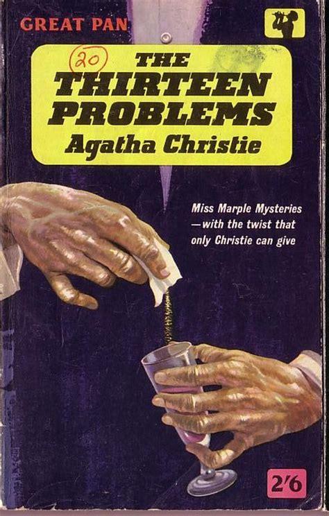 the thirteen problems agatha christie the thirteen problems book cover scans