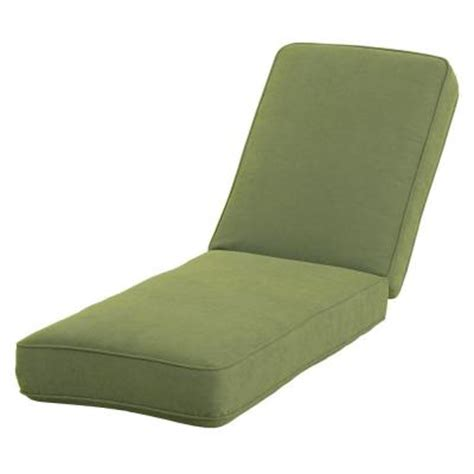 Martha Stewart Chaise Lounge Replacement Cushions martha stewart living bay lake adela cilantro replacement outdoor chaise lounge cushion