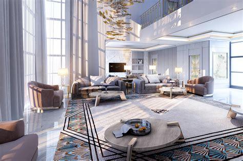 private villa interior design dubai uae  mouhajer