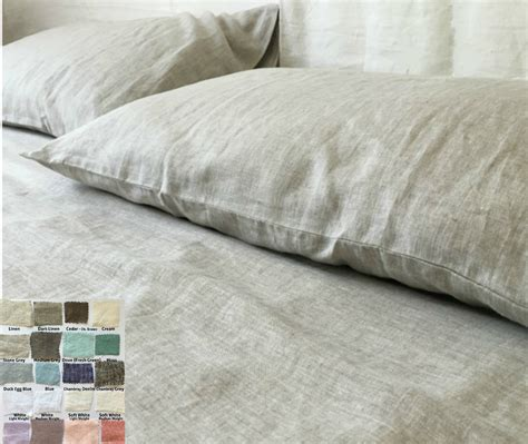best linen sheets linen bed sheets set white grey cream pink blue