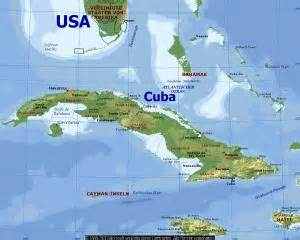 map of united states and cuba dismal world disputes u s cuba relations