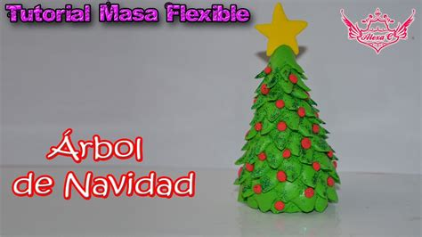 tutorial 193 rbol de navidad de masa flexible my crafts