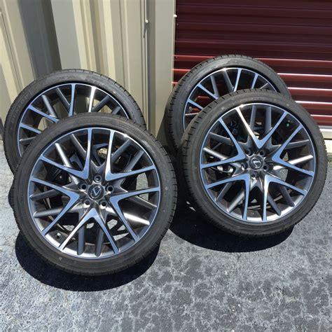 lexus f sport rims ca 2015 rc 350 f sport 19 quot wheels for sale clublexus