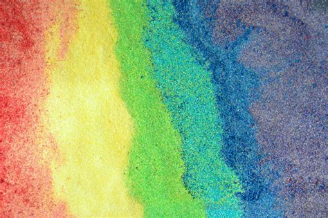 colorful sand rainbow sand adventure in a box