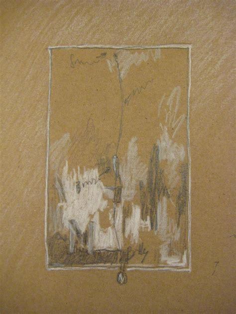sketchbook brown paper secret door projects 187 i draw jasper johns paintings in