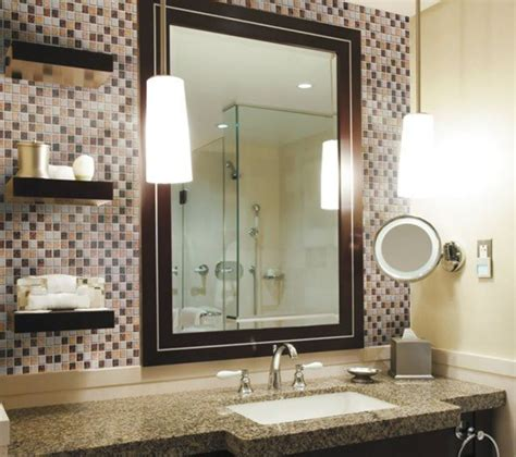 Backsplash Ideas For Bathrooms by 20 Eye Catching Bathroom Backsplash Ideas
