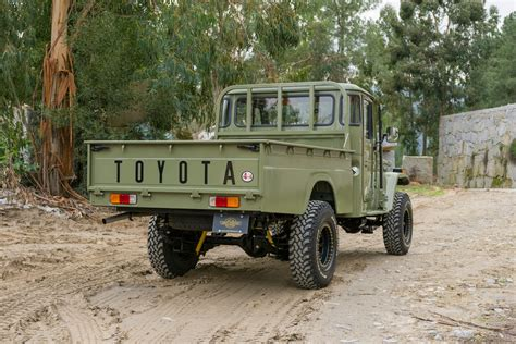 toyota up 1978 toyota land cruiser hj45 bed up truck