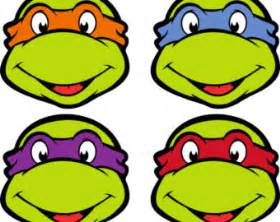 ninja turtle faces clipart best