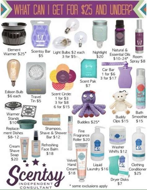 gifts for all look at what all you can get for 25 scentsy has