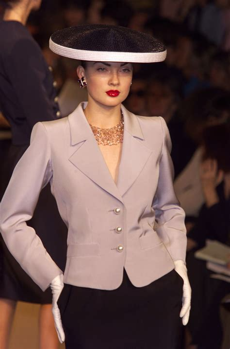 Haute Historian From To Laurent The New Look And The New New Look Second City Style Fashion by Yves Laurent At Couture 2001