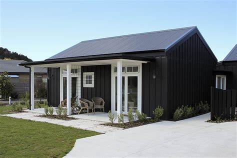 Architecturally Designed Barn Inspired Ply Batten Home Barn House Designs Nz