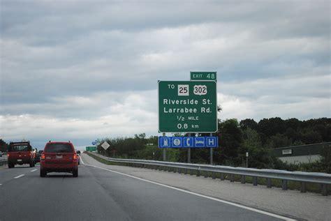 interstate  north portland  augusta aaroads maine