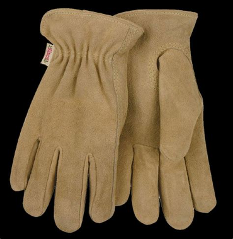 Cowhide Suede kinco 54w cowhide suede leather gloves womens unlined work