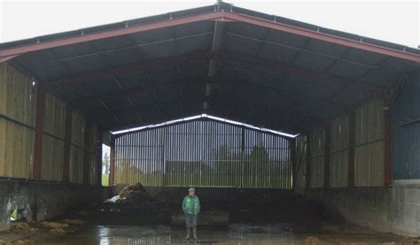 hangar bois agricole senatuolo r alisation bardage bois ext rieur hangar