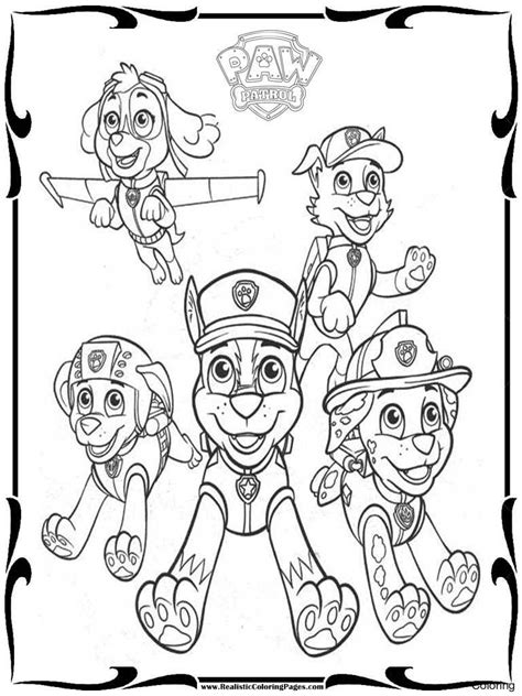 paw patrol thanksgiving coloring pages to print milgxlzgt paw patrol coloring sheets pages to download and