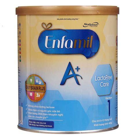 Enfamil A Step Up Care 400gr sữa enfamil lactofree care 400g cho trẻ bất dung nạp lactose suachobeyeu vn