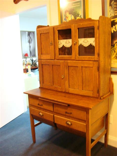 Vintage Hoosier Cabinet by Beautiful Vintage Hoosier Cabinet Oak
