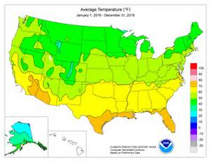 Usa Temperature Map by Climate Prediction Center Monitoring And Data Regional