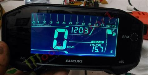 Speedometer Digital Jupiter Mx speedometer digital satria fu