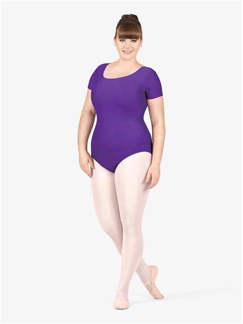 Balet Import All Size free shipping plus size sleeve leotard by theatricals