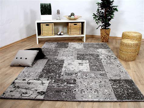 Designer Teppich Modern by Designer Teppich Sevilla Modern Grau Karo Barock Teppiche