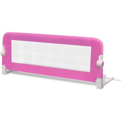 barriere letto per bambini barriera di sicurezza per letto bambino 102 x 42 cm rosa