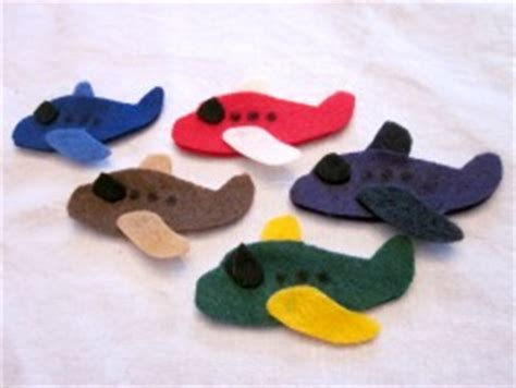 pattern for felt airplane transportation archives fun family crafts